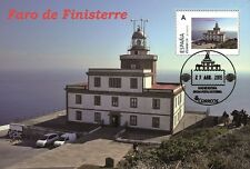 Spain 2015 - Lighthouses of Spain - Finisterre, Galicia maxicard