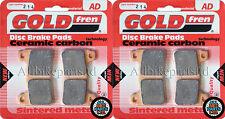 SINTERED HH FRONT BRAKE PADS (2xSets) For: HONDA CBR1000 RR9 FIREBLADE 2009