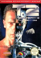 Terminator 2 T2 Judgement Day Nintendo Nes Cleaned & Tested Cart Only Authentic