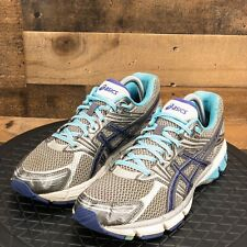 Asics GT 1000 Womens Shoes Running Walking Training Athleitc Gray Size 10D Wide
