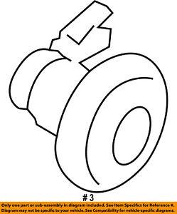 FORD OEM 15-16 Transit-150 Side Sliding Door-Lock Cylinder Right AM5Z18168A