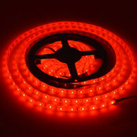 5M Red 5630SMD 300LEDs LED Strip Light Waterproof Car Lighting Super Brighter