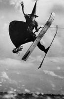 Antique Witch Water Skiing Photo 841 Oddleys Strange & Bizarre