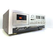 AKAI  GXC-730D Tape Deck Vintage 1976 Auto Reverse 3 Head Refurbished Like New