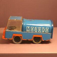 Vintage Moroko Tin Toy Truck License 12-78