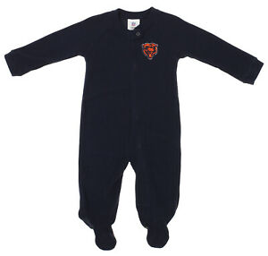 Outerstuff NFL Infants Chicago Bears Blanket Sleeper Coverall