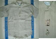 Leinene Herren-Trachtenhemden mit klassischem Kragen