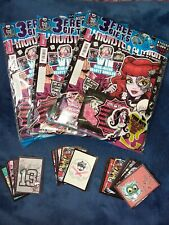 Monster High Sticker Album edition of Magazine #7 Zip Ring sticker pack