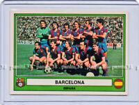 "ULTRA RARE !! Vignette BARCELONA CRUYFF Sticker n°83 ""EURO FOOTBALL 78"" PANINI"