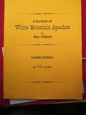 RARE LIMITED EDITION #848 MAX HILLYARD WHITE MOUNTAIN APACHES 1973