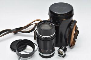 [Near MINT IN CASE FINDER] Canon 135mm f/3.5 for L39 LTM Leica Screw Mount Black