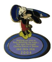 Disney Cast 2004 Mickey Hurricane Appreciation Pin (UN:35424)