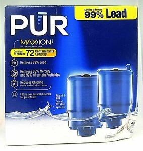 PUR Max Ion Replacement Faucet Filter RF-9999 Box Of 2 Filters