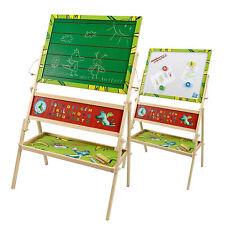 Beluga Tabaluga Standtafel für Kinder Magnet Kreide Schul Lern Schreib Mal Tafel