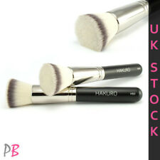 Hakuro H50 Flat Top Kabuki Foundation Liquid Cream Brush Synthetic Bristle Vegan