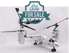 Radio Remote Control Helicopter USA Airforce Osprey V22 RTF RC Gyro 4CH 1:32