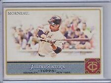 JUSTIN MORNEAU 2011 Topps Allen and Ginter Glossy #474/999 #305  (C1644)