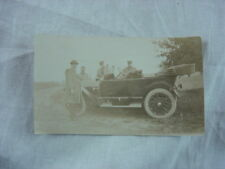 Vintage Car Photo Men w/ 1913 Buick Series 40 Touring 808