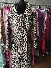 Vintage Safari Leopard Fur Coat made by Livingston Bros circa 1960/1970