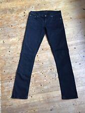 Nudie Jeans Tight Long John In Black Black Ladies Size W29 L32