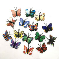 8x 4cm Butterfly Mini Butterfly Craft Magnet Craft Project Fridge Maget Décor