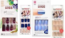 KISS Jewel Glam and Gel Fantasy imPRESS Broadway Nail bundles - you choose!