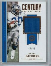 2018 Panini Encased Barry Sanders Century Collection Jersey #'ed 46/50