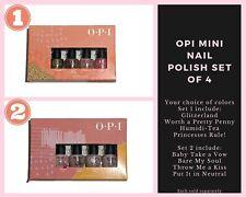 ONE OPI Nail Polish Lacquer Set of 4 Mini