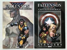 FALLEN SON: THE DEATH OF CAPTAIN AMERICA #1&2, Marvel (2007) 1st Ptg