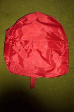 einfacher Stadtrucksack zum Shoppen, 2 Fächer, HBT ca. 30 x 30 x 9 cm, in Rot