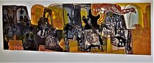 WARRINGTON COLESCOTT Color Softground Etching Drypoint Aquatint PENCIL SIGNED 66