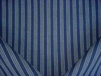 3-1/8Y Ralph Lauren LCF65987F Bungalow Jute Stripe Indigo Upholstery Fabric