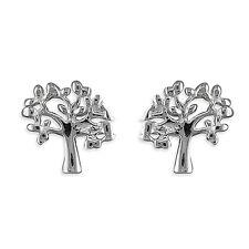 Argento sterling piccolo albero della vita orecchini a perno