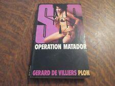 SAS operation matador - GERARD DE VILLIERS