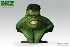 Sideshow Increíbles Hulk Legendary Escala Busto Estatua Juguete Avengers Figura