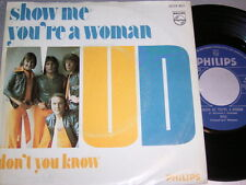 """7"""" - MUD / Show me you´re a Woman & Don´t you know - diff. Dutch 1975"""