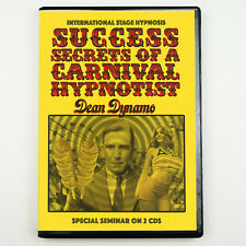 SUCCESS SECRETS of a CARNIVAL HYPNOTIST Stage Hypnosis Group Hypnotic Inductions