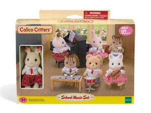 Calico Critters Town School Music Set CC1485 NEW IN STOCK