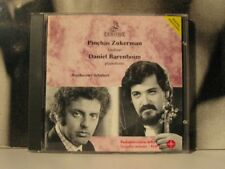 ZUKERMAN / BARENBOIM BEETHOVEN SCHUBERT CD '92 ERMITAGE