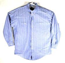 4d8ebac8495 Burberry платье рубашка большой размер 16 -34 на пуговицах с длинным рукавом  в синюю полоску