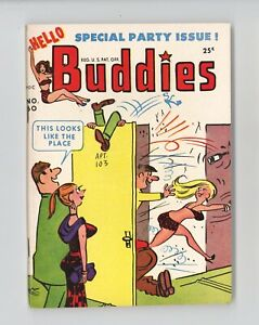 HELLO BUDDIES #60 - GREAT GGA COVER & ART, Comic stories - 1953 VERY SCARCE