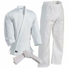 Century White Karate Uniform - Complete Uniform - Jacket, Pants and White Belt