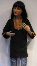 tickerei Tunika Tracht Kurta Hemd Long Shirt Orient Kaftan Bollywood Kind Kleid