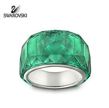 Swarovski Green Emerald Crystal Petite NIRVANA RING Size: XSmall/5/50