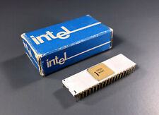 Very Rare Intel C8080 Microprocessor with Box  - Vintage Computer Chip