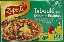 4 x 730 g ZAPETTI Taboule mit Tomaten Pfefferminz Olivenöl Zapetti