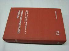 (Rispoli e Quondam) Poesia contemporanea 1970 Le Monnier