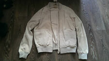 ANDREA D'AMICO suede bomber jacket 100% leather 52 size