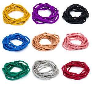 Griffin® Habotai Foulard Cord Thread Silk 3mm Diameter * Different Colors