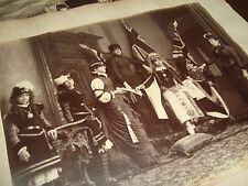 RR 1870 Sequence 3 photo British UK Theatre Children Couvent Play Queen Victoria